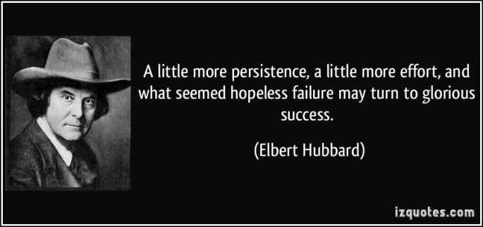 hubbard success quote