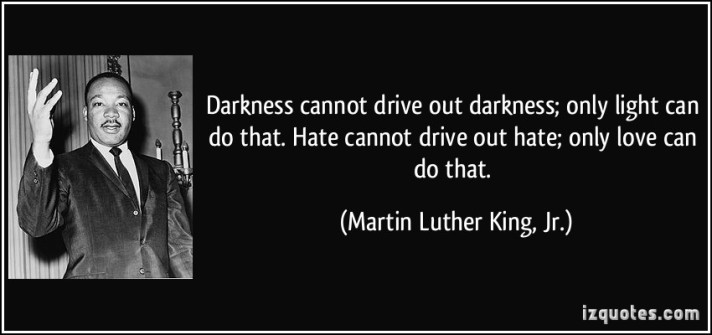 mlk darkness quote