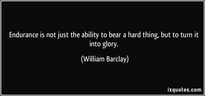 barclay endurace quote
