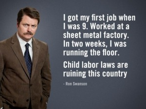 swanson child labor