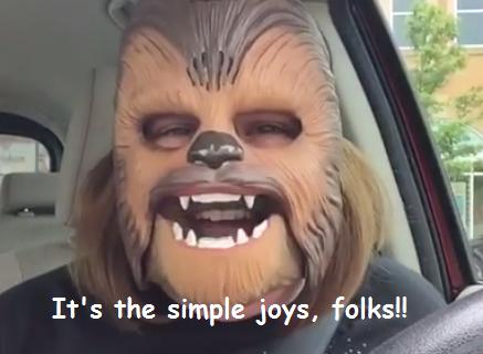 it's the simple joys folks