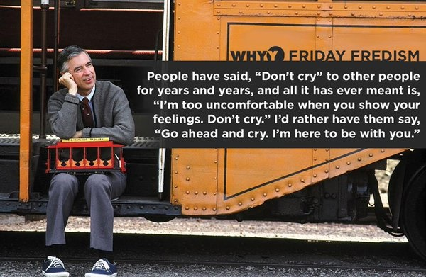 Mr. Rodgers crying quote