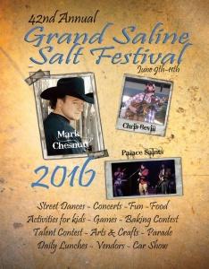 2016 festival program