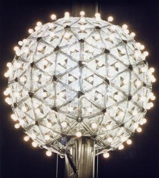 "The ""crystal ball"" in Times Square."
