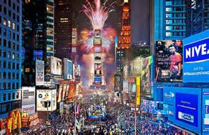 New Year's Celebration, Times Square, New York City.
