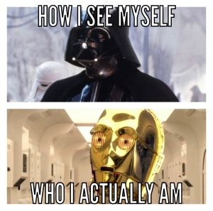 a meme of darth vader and c-3po